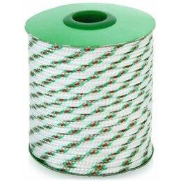 Веревки и шнуры - Шнур полипропиленовый плетеный 6мм 24пр.20м, 0
