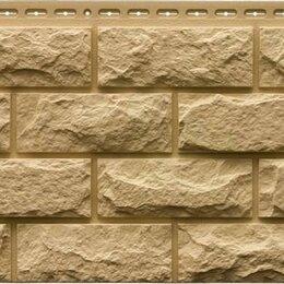 Фасадные панели - Фасадная панель Grand Line Колотый камень Стандарт Песочный, 0