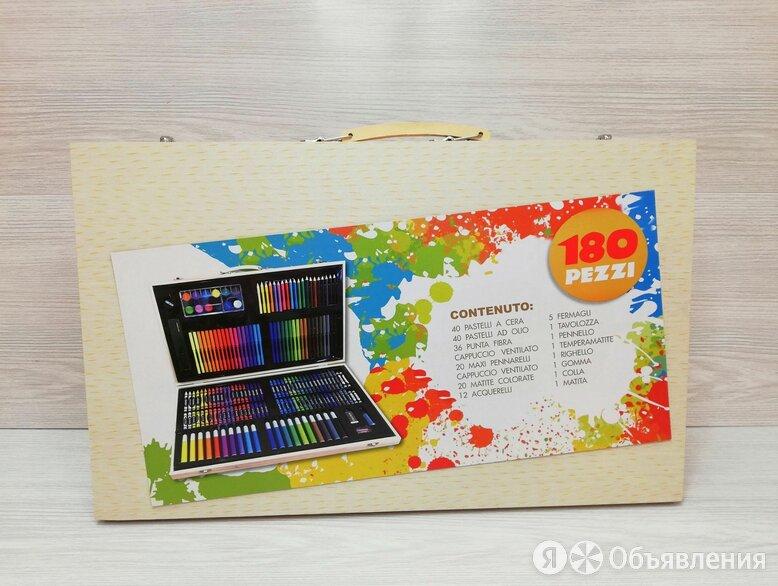 набор для рисования 180 предметов в кейсе по цене 1200₽ - Рисование, фото 0