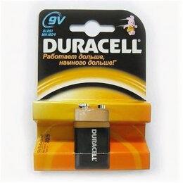 Батарейки - Батарейки Duracell 6LR61-1BL «Крона» 1шт, 0