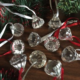 Ёлочные украшения - Бриллианты - украшения на новогоднюю ёлку , 0