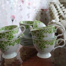 Сервизы и наборы - Чайный сервиз фарфор, 0
