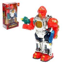 Роботы и трансформеры - Робот «Боец», световые и звуковые эффекты, работает от батареек, 0