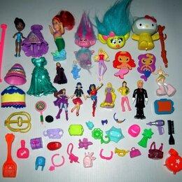 Игровые наборы и фигурки - Пакетом куклы, аксессуары к ним и миниатюрные игрушки для девочек, 0