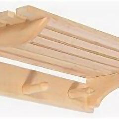 Аксессуары - Полка вешалка ( 60/28/10 см). Банные штучки 32008 32008, 0