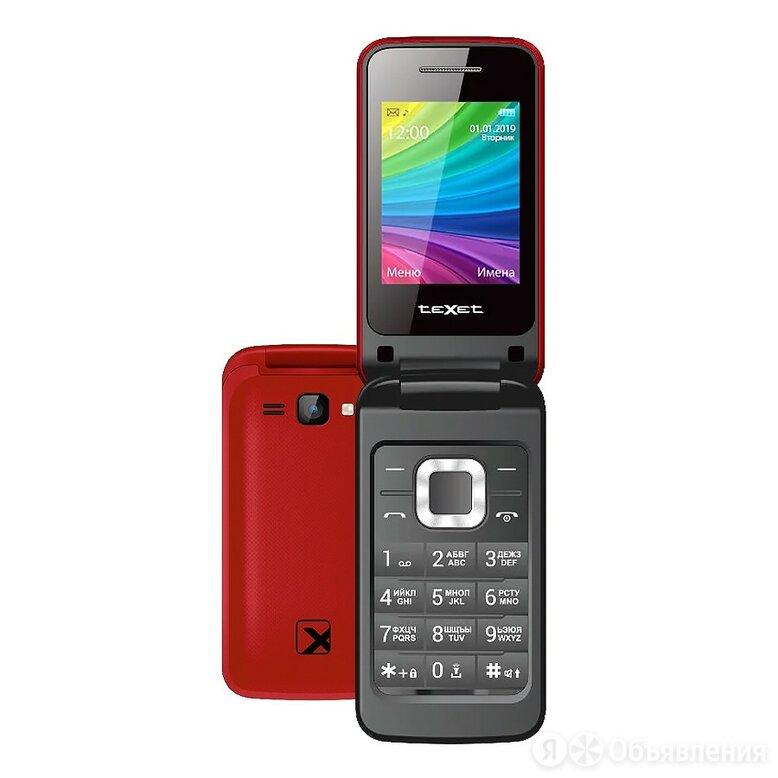Телефон teXet TM-204 (Гранатовый) по цене 1550₽ - Мобильные телефоны, фото 0