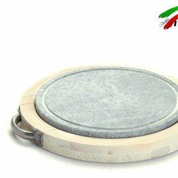 Аксессуары для грилей и мангалов - Сковорода гриль барбекю камень Bisetti 99271B стейки овощи рыбы креветки сосиски, 0