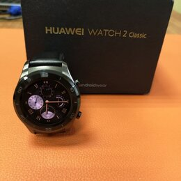 Умные часы и браслеты - Смарт-часы Huawei Watch 2 Leo-BX9 Black, 0