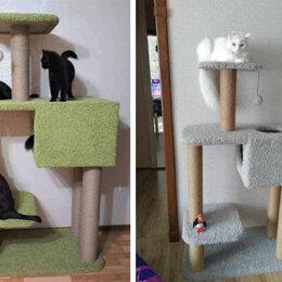 Когтеточки и комплексы  - Домик для кошки игровой с когтеточкой, 0