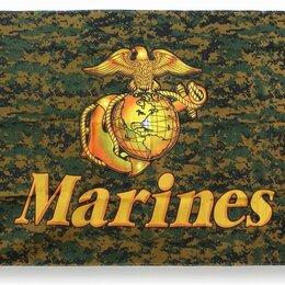 Флаги и гербы - Флаг Woodland Digital Marines, 0