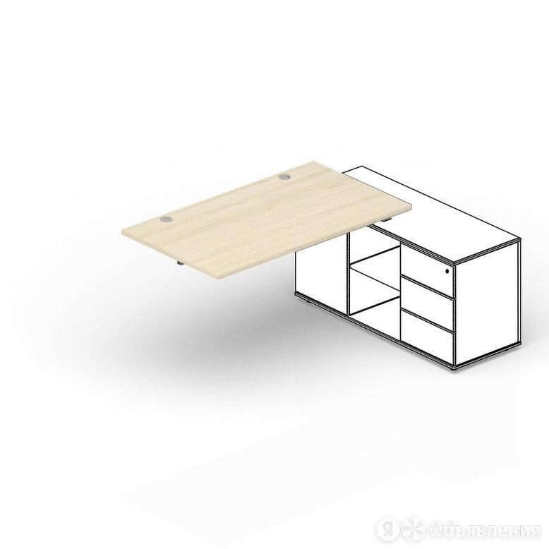 Стол Polo для крепления к сервисной опорной тумбе 2 громмета, приставной элем... по цене 12580₽ - Комплектующие, фото 0