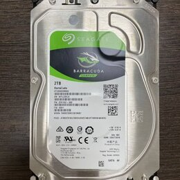 Жёсткие диски и SSD - HDD 2TB, 0