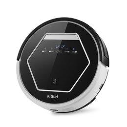 Роботы-пылесосы - Робот-пылесос с УФ лампой KITFORT KT-553 , 0