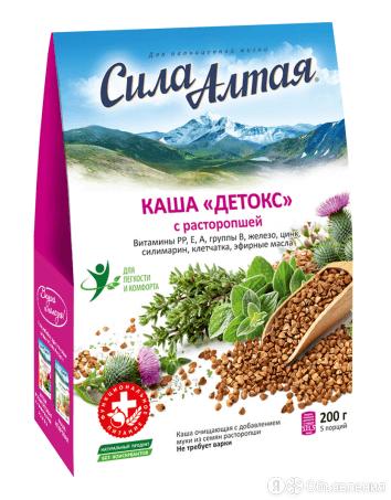 Каша Детокс с расторопшей для завтрака (5*40гр), Специалист по цене 132₽ - Детское питание, фото 0