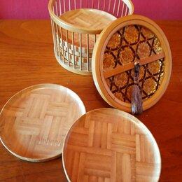 Подставки и держатели - Подставки под стаканы бамбук , восточный стиль, Китай, 0