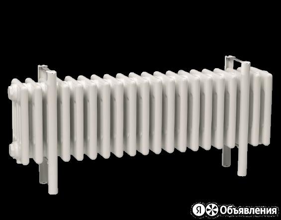 Радиатор стальной 6-и трубчатый Charleston 6030 4 секции, нижнее подключение ... по цене 28188₽ - Радиаторы, фото 0