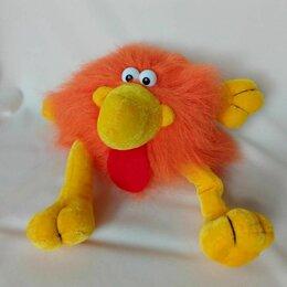 Мягкие игрушки - Мягкая игрушка - оранжевый головоног, 0