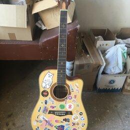 Акустические и классические гитары - Акустическая гитара crusader cf-6021, 0