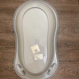 Сиденья, подставки, горки - Ванночка  с термометром и горка для купания, 0