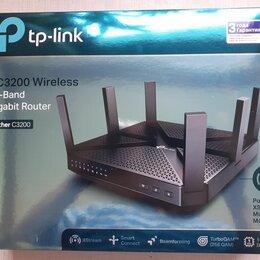 Оборудование Wi-Fi и Bluetooth - Wi-fi роутер tp-link archer C3200, 0