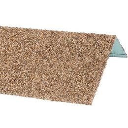 Окна - Наличник оконный металлический HAUBERK Песчаный 50*100*1250мм, 0