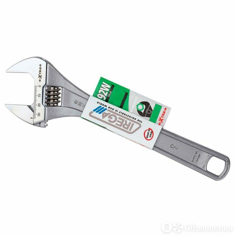 Разводной ключ IREGA 92W/CE- 8 по цене 1845₽ - Сантехнические, разводные ключи, фото 0