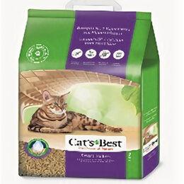 Наполнители для туалетов - CAT,S BEST SMALL PELLETS наполнитель древесный без запаха 5 кг 10 л , 0