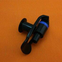 Кулеры для воды и питьевые фонтанчики - Кран черный для кулера внутренняя резьба (синиий), 0