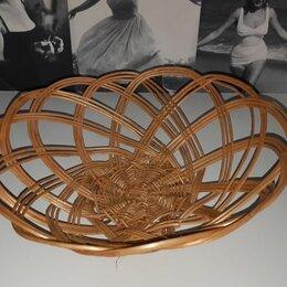 Хлебницы и корзины для хлеба - Ваза плетеная для хлеба. Дерево. Плетение. Ручная работа. , 0