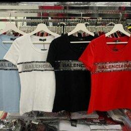 Футболки и топы - Белая футболка беленсиага Л, 0