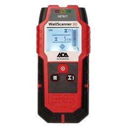 Измерительные инструменты и приборы - Детектор металла проводки и дерева ADA Wall Scanner 80 (A00466) (Wall Scanner..., 0