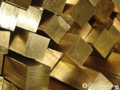 Квадрат Бронзовый 18х18 ТУ 48-21-289-73 по цене 62₽ - Металлопрокат, фото 0