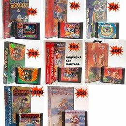 Ретро-консоли и электронные игры - Картриджи Sega big box из 90х, 0