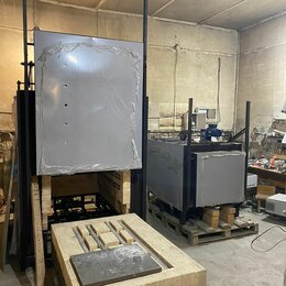 Производственно-техническое оборудование - Печи с выкатным подом для термообработки металл, 0