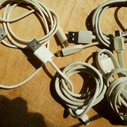 Зарядные устройства и адаптеры - Узб кабель для зарядки на айфон, 0