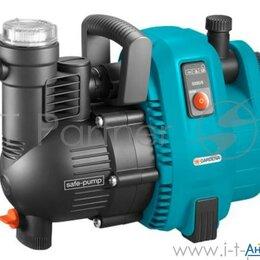 Фильтры, насосы и хлоргенераторы - Садовый насос напорный Gardena 4000/5 Comfort 1300Вт 5000л/час, 0
