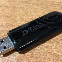 Сетевые карты и адаптеры - USB Wi-Fi адаптер D-Link DWA-140, 0