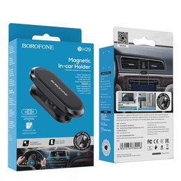 Зарядные устройства и адаптеры питания - BOROFONE MAGNETIC IN-CAR HOLDER  на панель, 0
