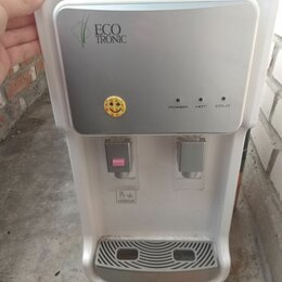 Кулеры для воды и питьевые фонтанчики - Настольный пурифайер Ecotronic V11-U4T, 0