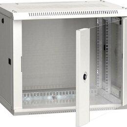 Строительные блоки - Шкаф 19дюйм LINEA W 6U 600х450мм настен. стекл.…, 0