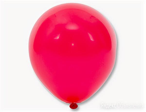 """Е Шар 12"""" Пастель Red (красный), 25 шт. по цене 3₽ - Интерьерная подсветка, фото 0"""