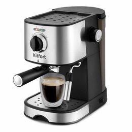 Кофеварки и кофемашины - Кофеварка эспрессо Kitfort KT-753, 0
