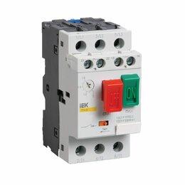 Защитная автоматика - Автоматический выключатель защиты двигателя IEK ПРК 32-14, 0