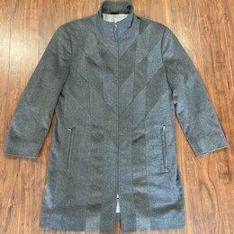 Пальто - Zilli пальто оригинал кашемир шиншилла оригинал 50, 0