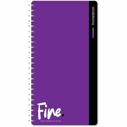 Детская литература - Книга алфавит.  А5  OfficeSpace Monocolor. Fine color, 80л, гребень, с высечкой , 0