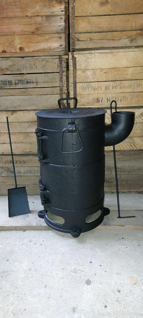 Печь под казан с боковым дымоходом Армавир по цене 23000₽ - Печи для казанов, фото 0