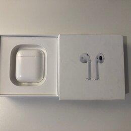 Наушники и Bluetooth-гарнитуры - Оригинальные Apple Airpods 1, 0
