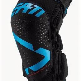 Мотоэкипировка - Наколенники Leatt 3DF 5.0 Zip Knee Guard Fuel/Black, 0