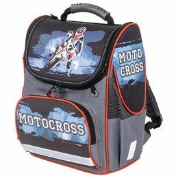 Рюкзаки, ранцы, сумки - Ранец  Brauberg STYLE Motocross, эргономическая спинка , 35*28*18см, 0