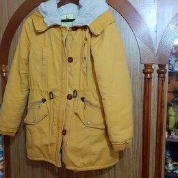 Куртки - Куртка-парка женская зимняя , 0